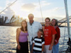 The Granger family on Faith in Sydney Harbour