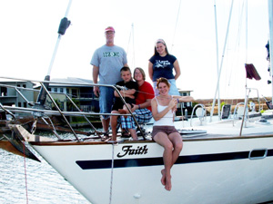 The Granger family onfaith in Darwin, Australia