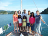 With Joe's family in Langkawi, Malaysia